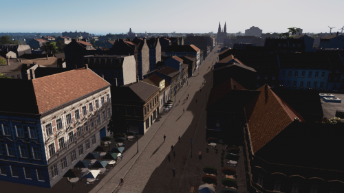 Altstadt am Morgen